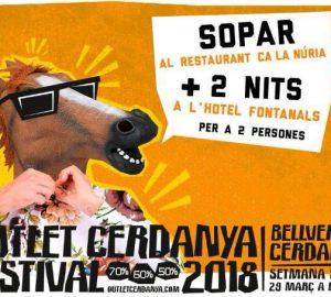 09/03/2018 Sorteig sopar Outlet Cerdanya